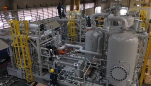 Unidade de compressão entregue para o FPSO Carioca