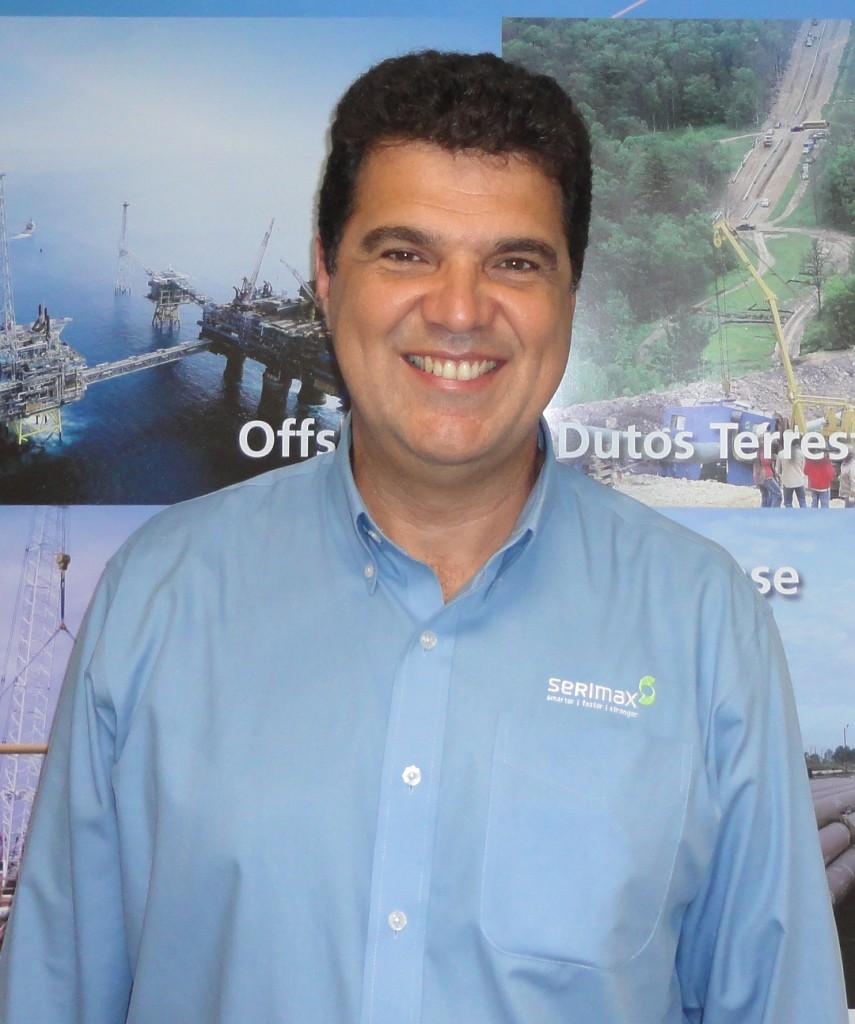 Rogério Casanova, gerente de desenvolvimento de negócios da Serimax