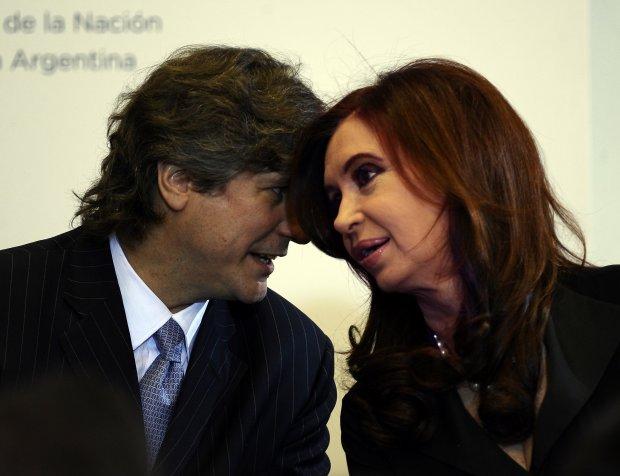 Amado Boudou e Cristina Kirchner