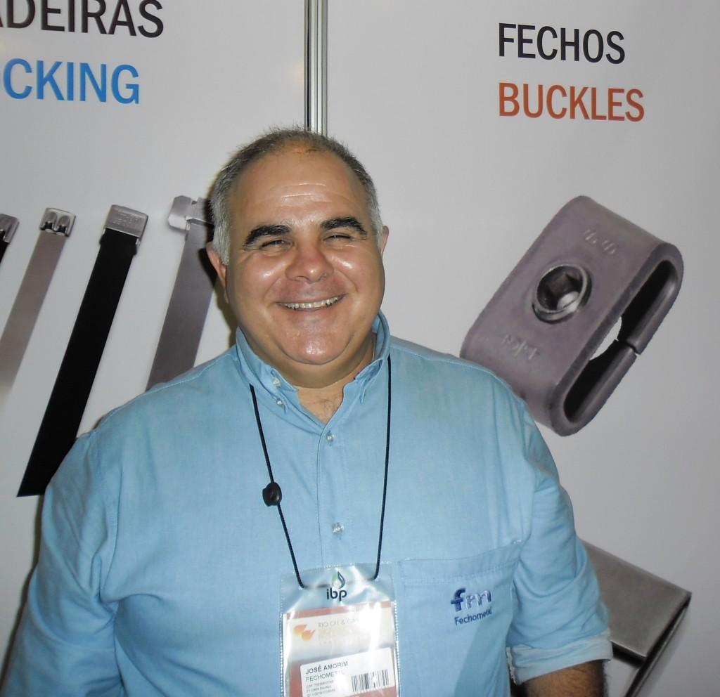 Jose Amorim, proprietário da Fechometal