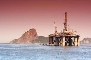 Plataforma da Petrobras no Rio de Janeiro