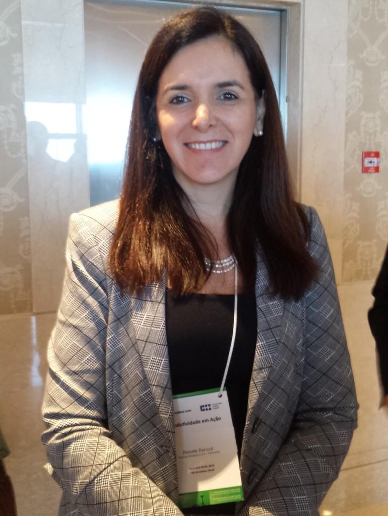 Renata Baruzzi, presidente do CE-EPC