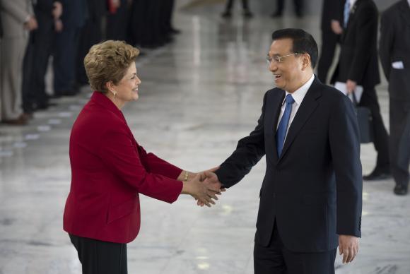 Dilma Li Keqiang