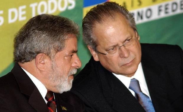 Lula e Dirceu
