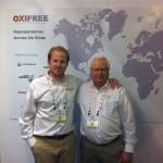 Ed Hall e Nigel Thomson, da Oxifree (2)