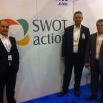 Eduardo Gachineiro, Helder Waiandt e Emilio Castro, da Swot Action