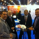 Eric Correia, Aloysio Nunes, Marcelo e amigo