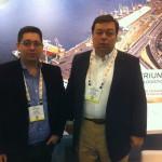 Kliper Coutinho e Gustavo Carvalho, da Triungo Logistica