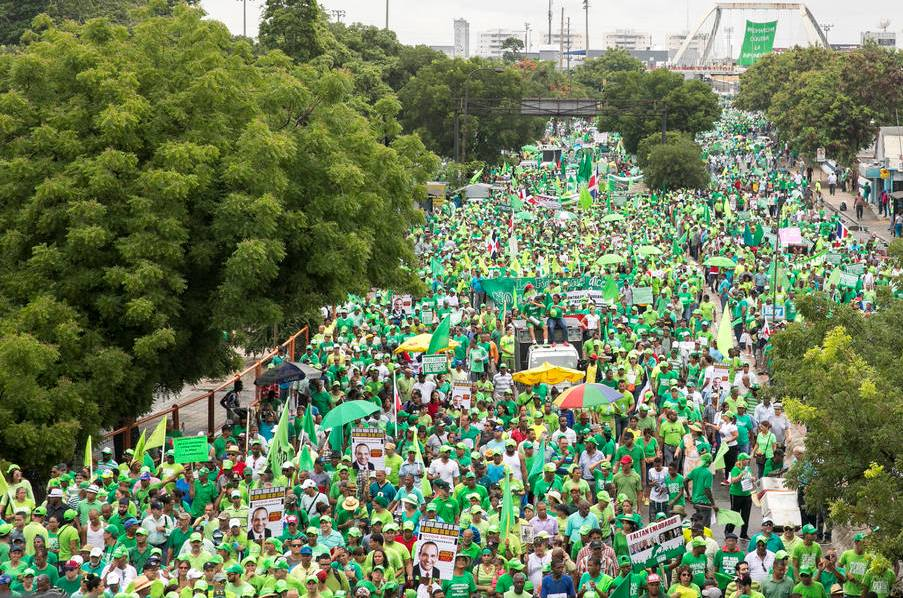Dominican Republic Green March