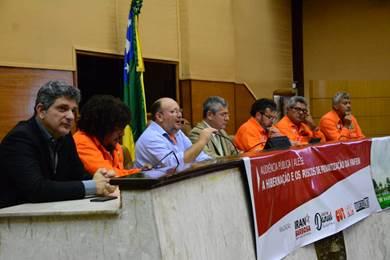 Audiência pública em Sergipe discutiu consequências da hibernação das Fafens