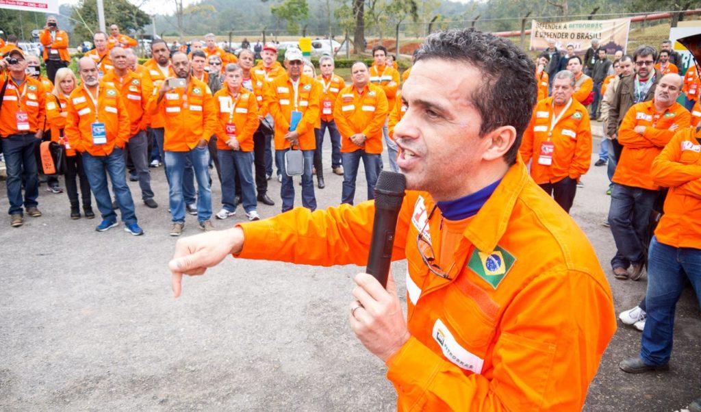 Presidente da FUP, José Maria Rangel