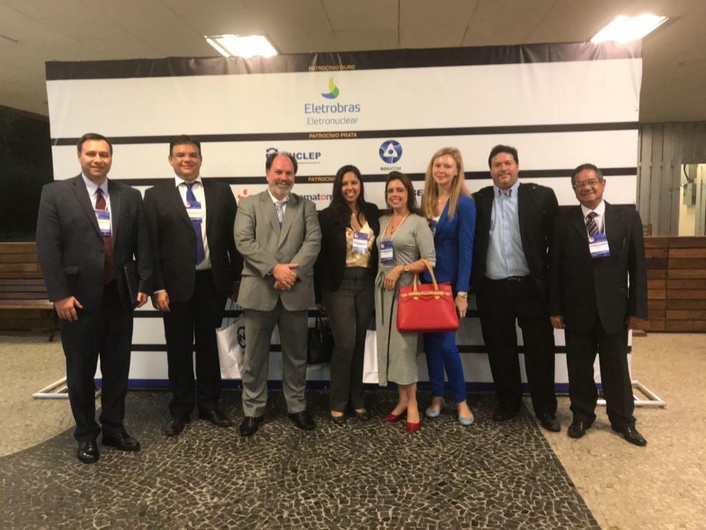 Membros do setor nuclear durante o SIEN 2018