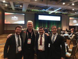 Equipe da Liderroll com Tim Graves, Diretor de Operações da Asme