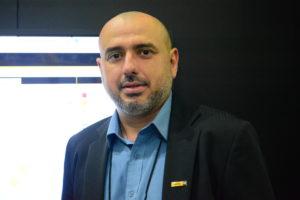 O engenheiro Saul Machado