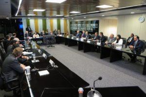 A reunião em Brasília reuniu os principais executivos das empresas estrangeiras interessadas em Angra 3