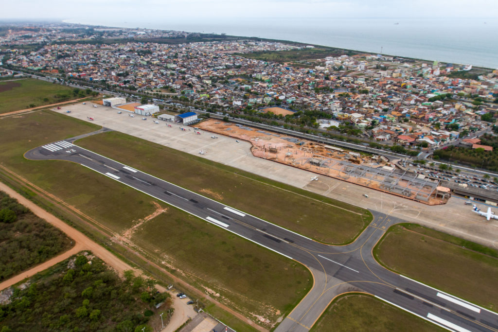 Imagens aéreas. Macaé/RJ. Data: 14/11/2014. Foto: Rui Porto Filho / Prefeitura de Macaé