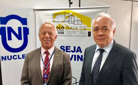 Carlos Henrique Silva Seixas( esquerda) e Edésio Teixeira Lima