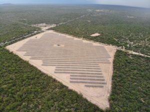 Usina solar da Servtec em Canas (SP)