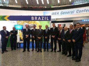 Estande brasileiro na última edição da conferência, no ano passado
