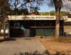 Centro de Radiofarmácia do IPEN, localizado em São Paulo: prédio foi inaugurado em 1974