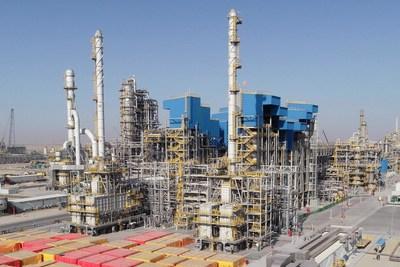 Sinopec completa unidade principal da maior refinaria do Oriente Médio. (PRNewsfoto/Sinopec)