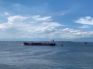 Retomada das operações da REFIT no Porto do Rio no dia 22 de novembro