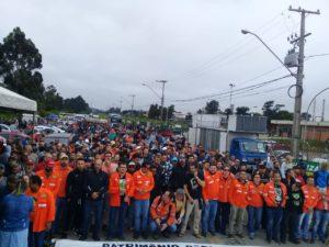 Manifestação em Araucária