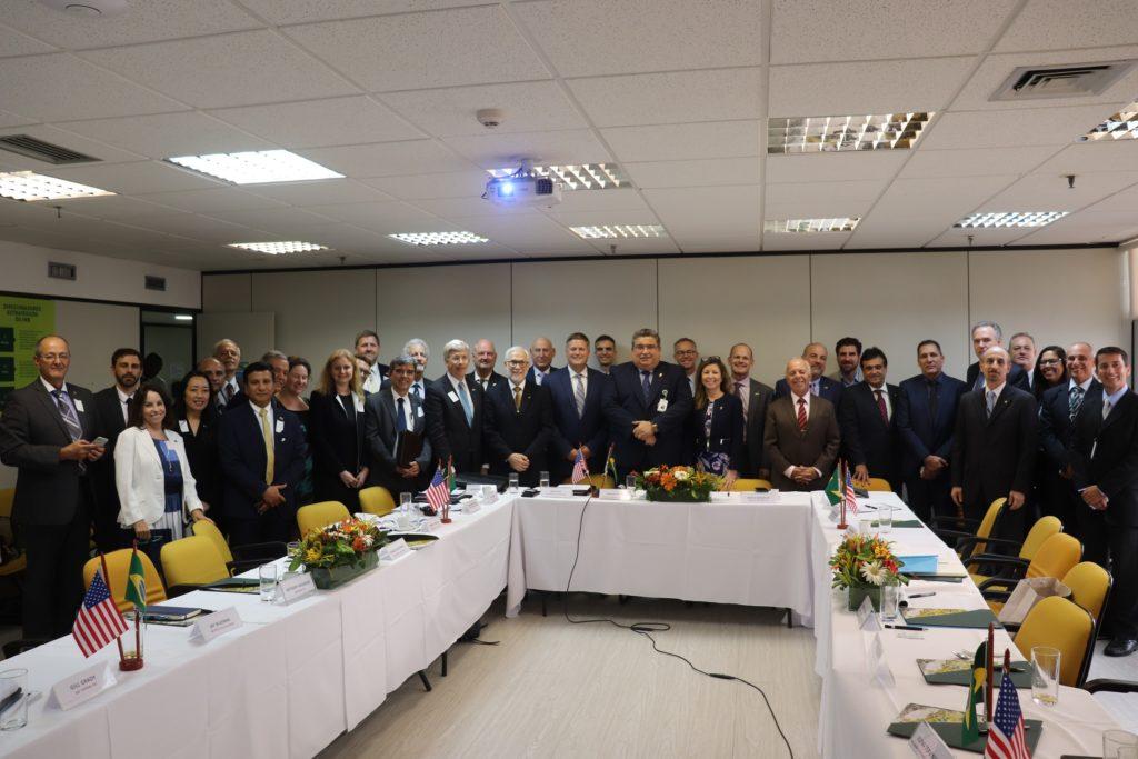 Missão Nuclear Comercial Americana participa de reunião na INB Rio
