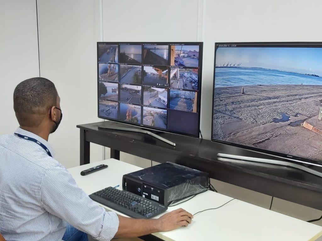 Instalações do recém-inaugurado CCO do Porto do RIo de Janeiro