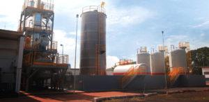 Fábrica de Clorito de Sódio em Santa Bárbara d'Oeste (SP)