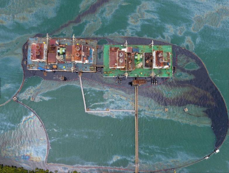 Derramamento de óleo_Tailandia