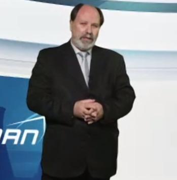 Presidente da ABDAN, Celso Cunha, na abertura da NT2E