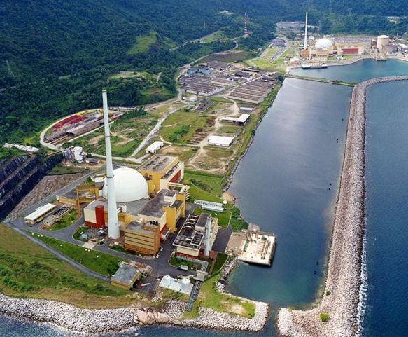 Ilustração mostra como será a usina de Angra 3 após concluída