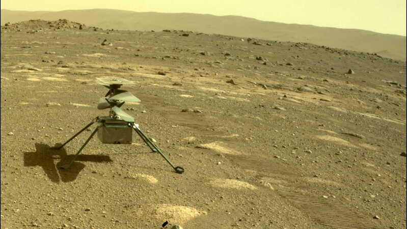 NASA's Ingenuity Helicopter detached from Perseverance Rover