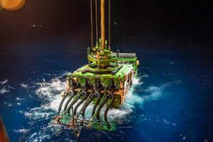 Robô Patania no Oceano Pacífico