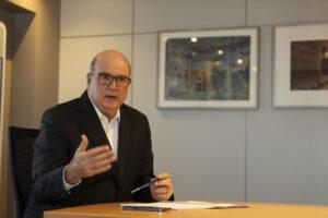 Jefferson De Paula (CEO ArcelorMittal Aços Longos LATAM e Mineração Brasil).Credito Leo Drumond-NITRO