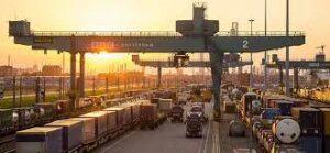 Ferrovia do porto